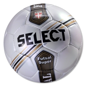 Select Futsal Super Ball (White/Gold)
