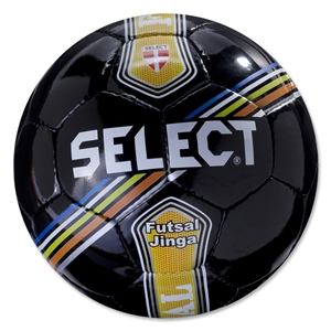 Select Futsal Jinga Senior Ball (Black/Stripe)