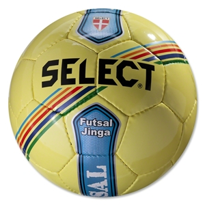 Select Futsal Jinga Senior Ball (Yellow/Stripe)