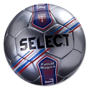 Select Futsal Magico Senior Ball (Silver/Stripe)