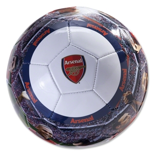 Arsenal Player Photo Soccer Ball