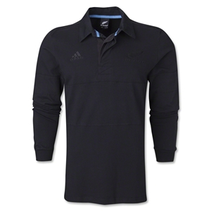 All Blacks LS Supporter Polo