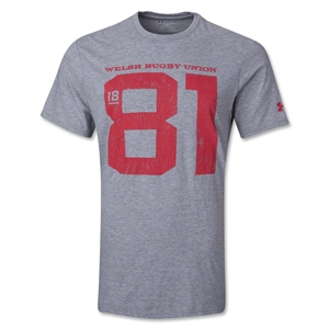 Wales Rugby 1881 T-Shirt (Gray)