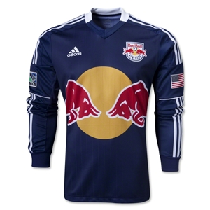 New York Red Bulls 2013 Authentic LS Secondary Soccer Jersey