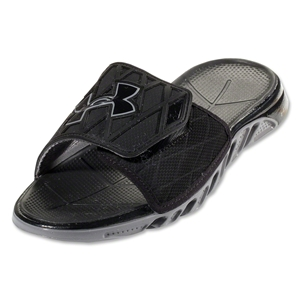 Under Armour Spine SL Sandal (Black/Graphite/Metallic Silver)