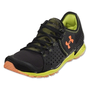 Under Armour Micro G Mantis Running Shoe (Black/Bitter/Blaze Orange)