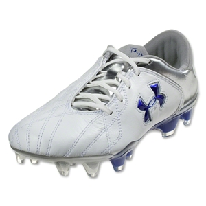 Under Armour Hydrastrike Pro II FG (White/Metallic Silver/Royal)