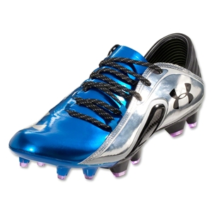 Under Armour Blur CBN III FG (Royal/Metallic Silver/Strobe)