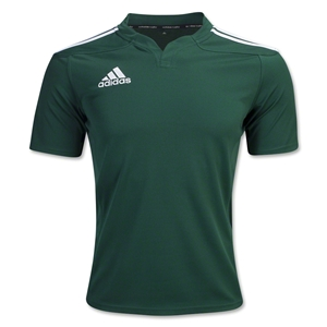 adidas Three Stripe 13 Rugby Jersey (Dark Green)