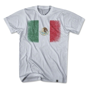 Mexico Vintage Flag T-Shirt (Gray)