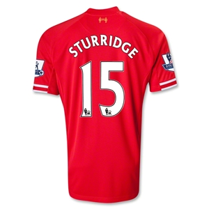 Liverpool 13/14 STURRIDGE Home Soccer Jersey