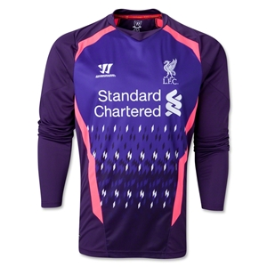 Liverpool 13/14 LS Goalkeeper Away Soccer Jersey