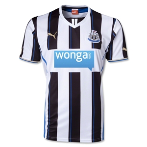 Newcastle United 13/14 Home Soccer Jersey