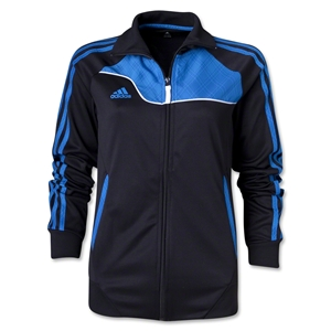 adidas Women's Speedtrick Track Jacket (Black/Royal)