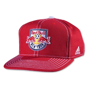 New York Red Bulls Flat Brim Snap Back Cap