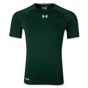 Under Armour Heatgear Sonic Compression T-Shirt (Dark Green)
