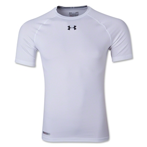 Under Armour Heatgear Sonic Compression T-Shirt (White)
