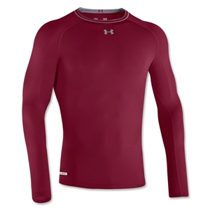 Under Armour Heatgear Sonic Compression LS T-Shirt (Maroon)