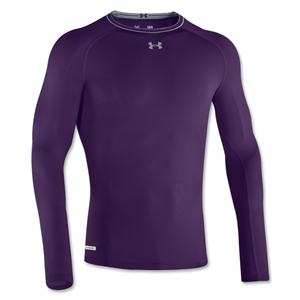 Under Armour Heatgear Sonic Compression LS T-Shirt (Purple)