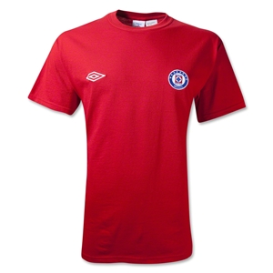 Cruz Azul 11/12 Soccer T-Shirt (Red)