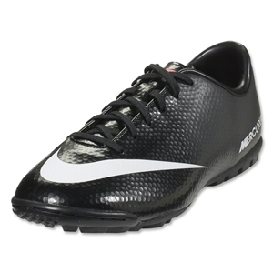 Nike Junior Mercurial Victory IV TF (Black/White)