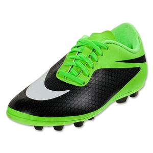 Nike Junior Hypervenom Phade FG-R (Flash Lime/White/Black)