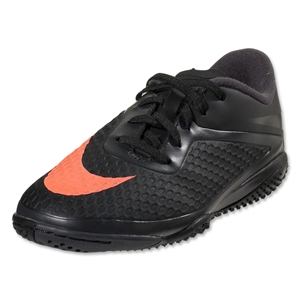 Nike Junior Hypervenom Phelon IC (Dark Charcoal/Total Crimson/Black)