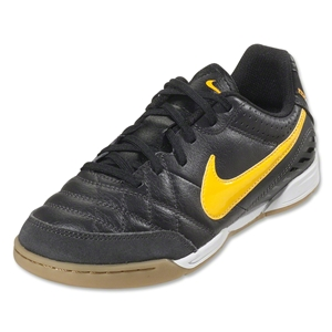 Nike Tiempo Natural IV IC Junior (Dark Charcoal/Laser Orange/Black)