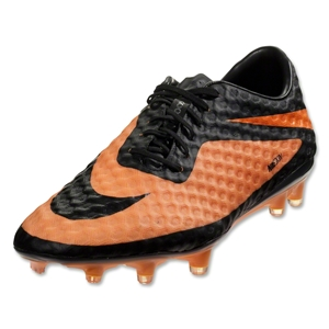 Nike HyperVenom Phantom FG (Black/Black/Bright Citrus)