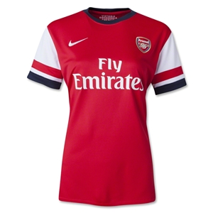 Arsenal 12/14 Women's Home Soccer Jersey