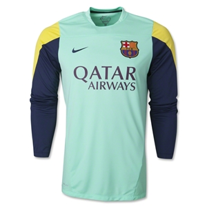Barcelona LS Squad Training Top
