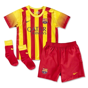 Barcelona 13/14 Infant Away Soccer Kit