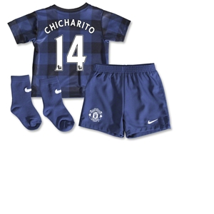 Manchester United 13/14 CHICHARITO Infant Away Kit