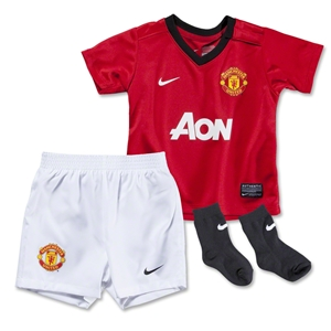 Manchester United 13/14 Infant Home Soccer Kit
