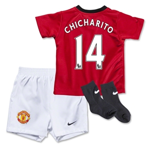 Manchester United 13/14 CHICHARITO Home Infant Kit