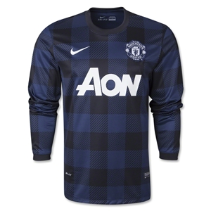 Manchester United 13/14 LS Away Soccer Jersey