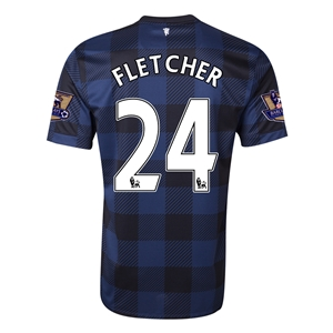 Manchester United 13/14 FLETCHER Away Soccer Jersey