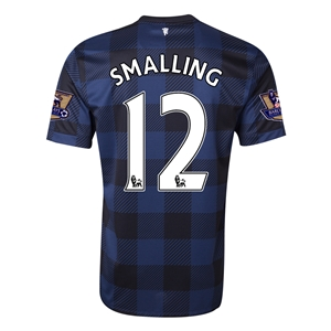Manchester United 13/14 SMALLING Away Soccer Jersey