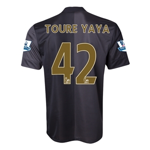 Manchester City 13/14 TOURE YAYA Away Soccer Jersey