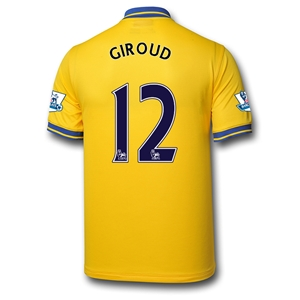 Arsenal 13/14 GIROUD Away Soccer Jersey