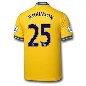 Arsenal 13/14 JENKINSON Away Soccer Jersey
