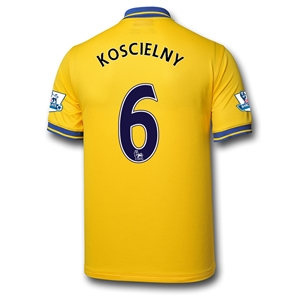 Arsenal 13/14 KOSCIELNY Away Soccer Jersey