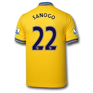 Arsenal 13/14 SANOGO Away Soccer Jersey