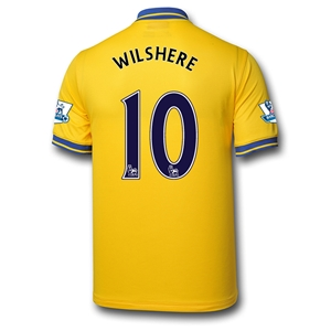 Arsenal 13/14 WILSHERE Away Soccer Jersey
