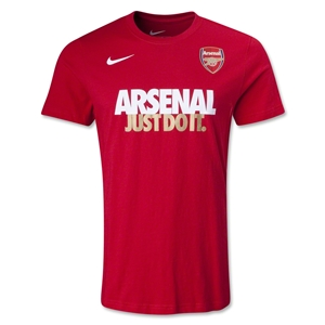 Arsenal Just Do It T-Shirt