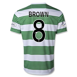 Celtic 13/14 BROWN Home Soccer Jersey