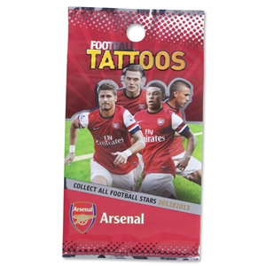 Arsenal Temporary Tattoos