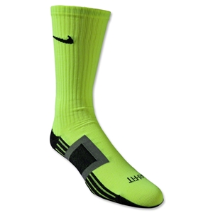 Nike Dri-FIT Channeling Sock (Lime)