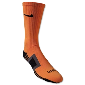 Nike Dri-FIT Channeling Sock (Orange)