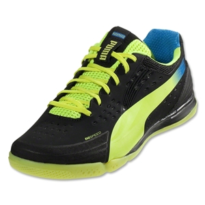 PUMA evoSPEED 1.2 Sala (Black/Fluo Yellow/Brilliant Blue)
